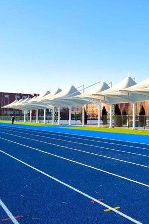 球场跑道施工