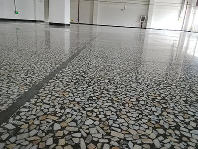 工厂水磨石改造装甲地坪