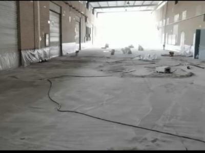 装甲地坪施工