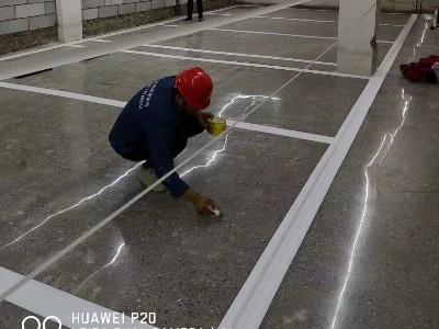地下停车场装甲地坪