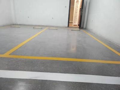 小区车位改造装甲地坪