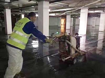华润置地20万方选择昆明装甲地坪施工地面起灰处理