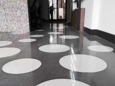 云南晶彩磨石地坪的基础要求及施工环境的要求