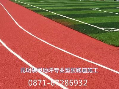 塑胶跑道塑胶球场施工