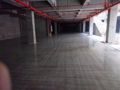 【施工案例】大理地下停车场地坪施工近尾声啦,一次施工30年无尘!